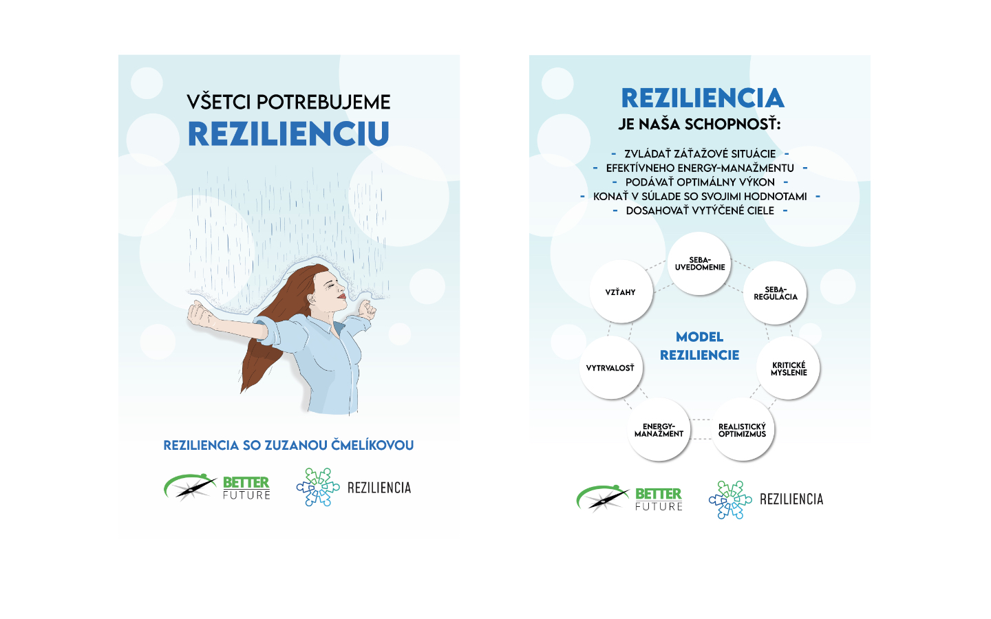 Posters for @rezilienciask