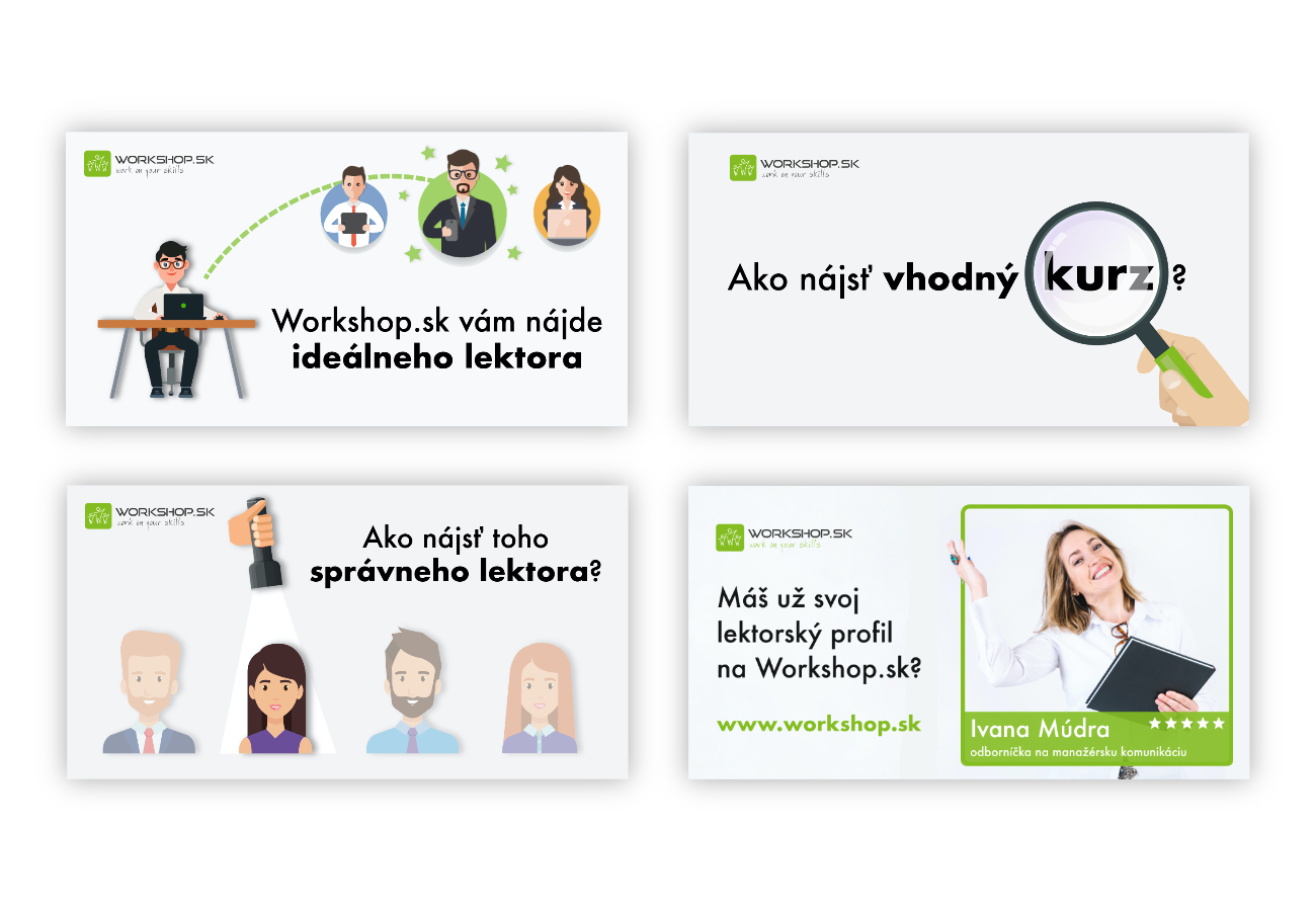Banners & Articles for Workshop.sk
