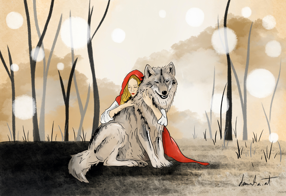 My version of Red Riding Hood